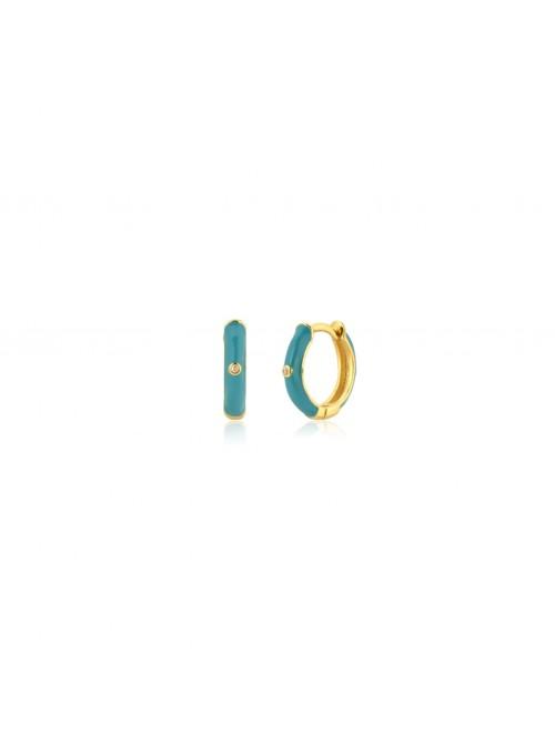Pendientes ENAMEL Turquoise
