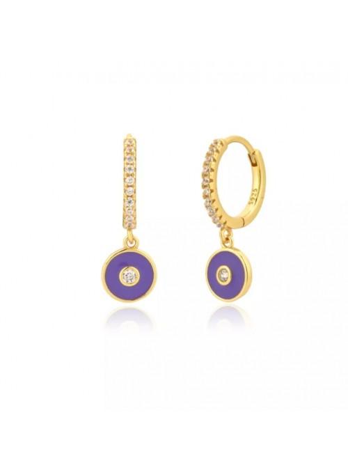 Pendientes ENAMEL Purple I
