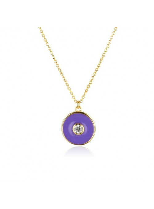 Collar ENAMEL Purple