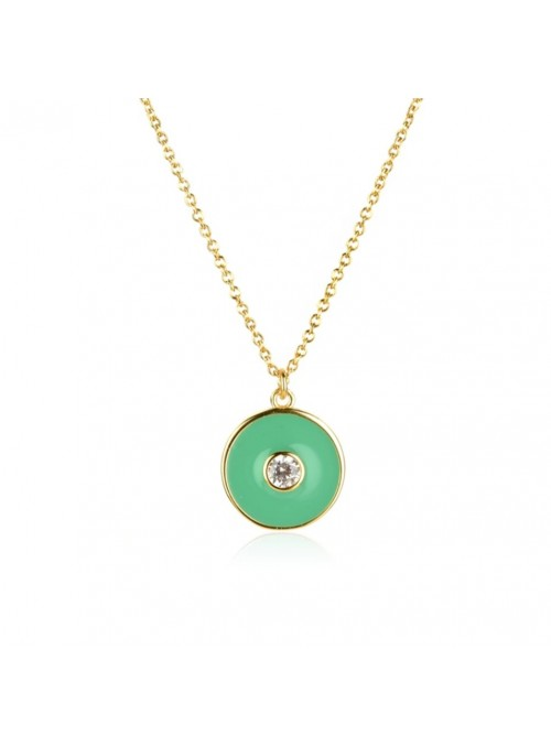 Collar ENAMEL Green