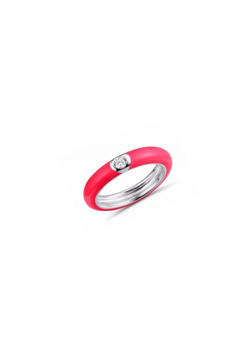 Anell ENAMEL Red