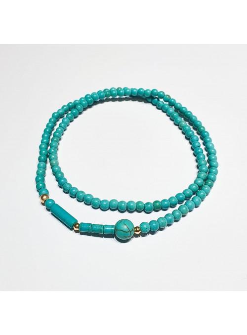Collaret BUBBLES Turquoise