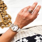 Little diamonds do great things 🤍  📸 Rellotge Chopard Happy Sport bicolor, anells Chopard Happy Diamonds Icons d'or blanc i rosa 18kt amb diamants mòbils 💎  #JoieriaMoner #ChopardbyMoner #Chopard #HappySport #HappyDiamonds