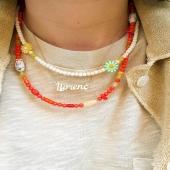 Penjolls BUBBLES Coral & Magnesita 🤍❤️  Combina'ls amb el penjoll ABC Name. Podem personalitzar la joia amb el teu nom o el de qui vulguis!!✨  #JoieriaMoner #ABCbyMoner #BubblesbyMoner