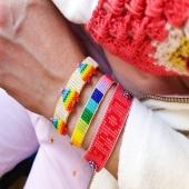 Nuestras pulseras HAPPY 🌈 Ideales para alegrarte el día 😜  #JoieriaMoner #HappyByMoner