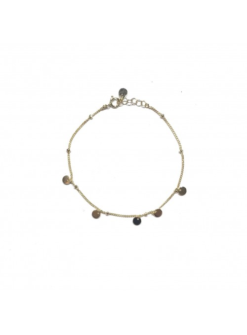 Pulsera Chain Gemstones Calcedonia