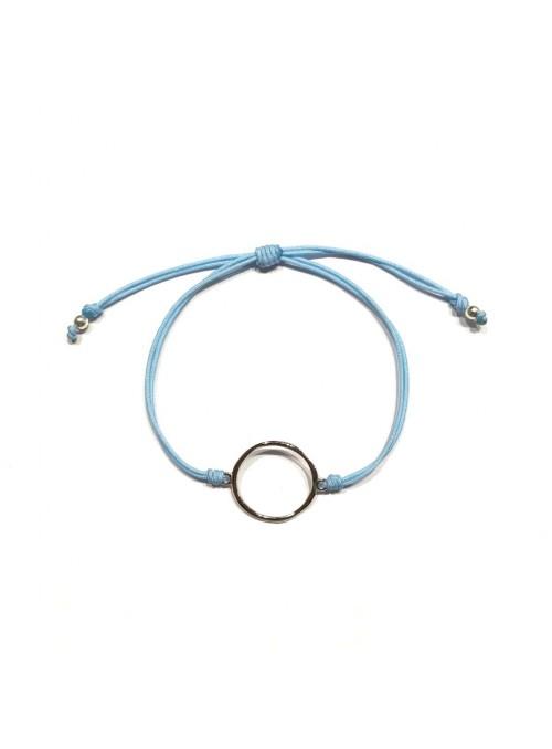 Pulsera Cord Minimal Círculo