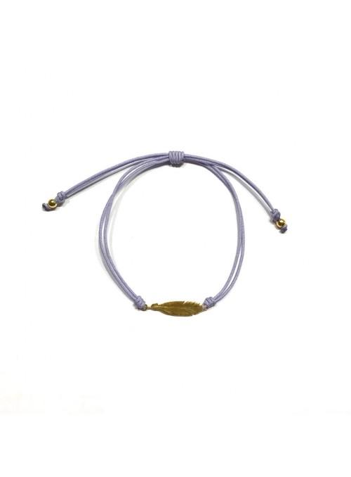 Pulsera Cord Boheme Pluma