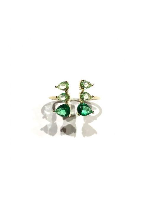 Anillo Gemstones Verde
