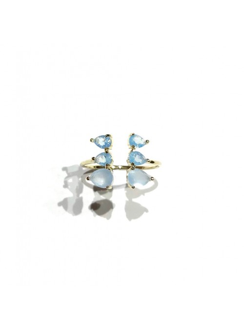 Anillo Gemstones Azul