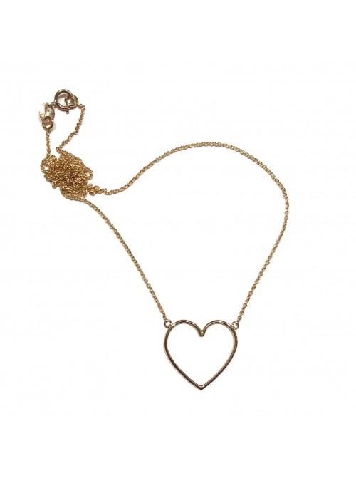 Collar Gold Minimal Corazón