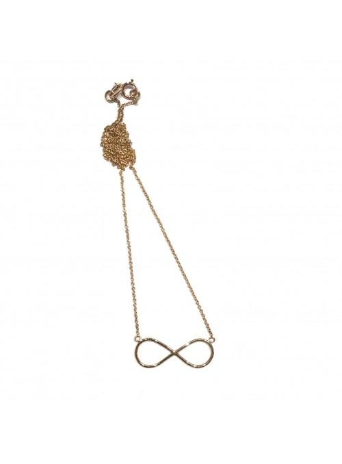 Collar Gold Minimal Infinito