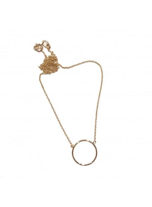 Collar Gold Minimal Círculo