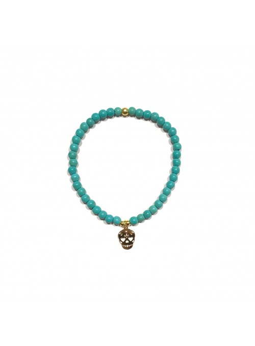 Pulsera Bubbles Tribal Calavera