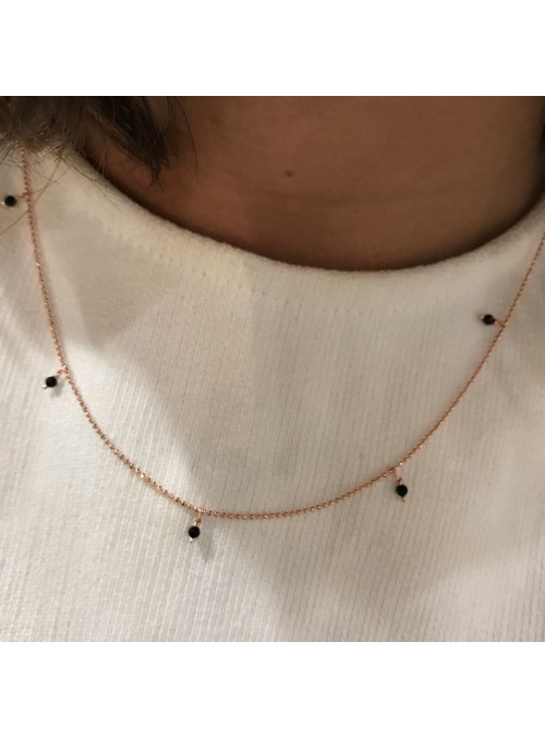 Collar Chain Rainbow Minimal