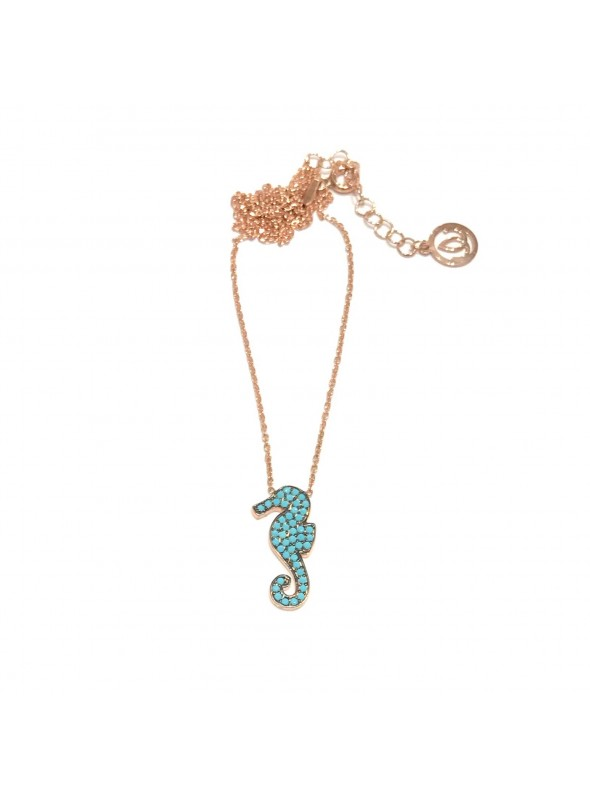 Collar Chain Rainbow Seahorse