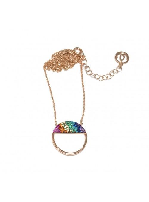 Collar Chain Rainbow Cercle