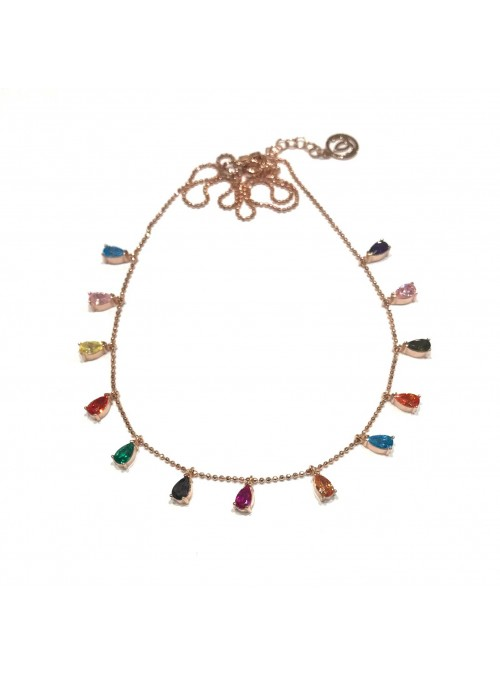 Collar Chain Tutti Fruti