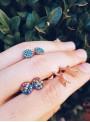 Pendientes Rainbow Turquoise