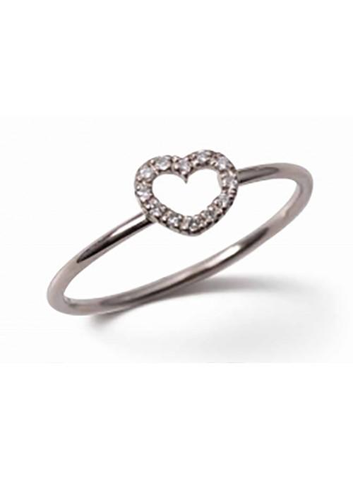 Anillo Oro Diamond Love