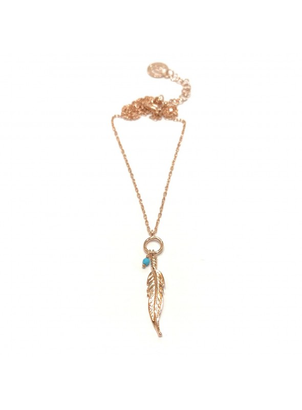 Collar Chain Feather