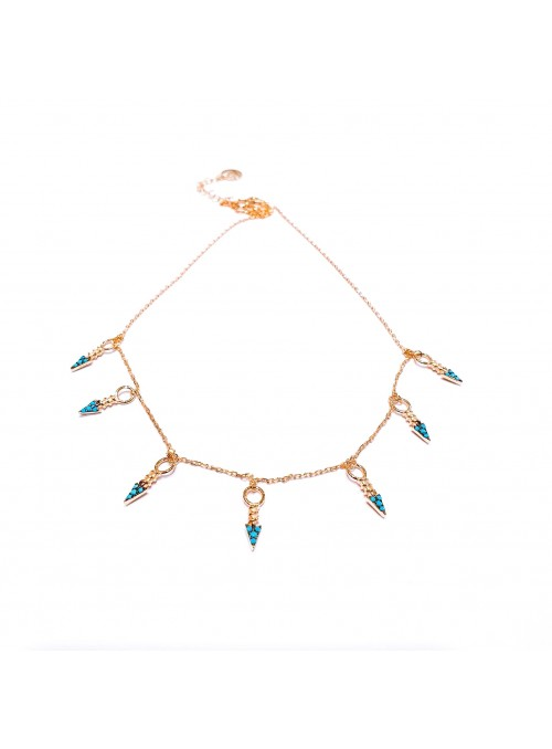 Collar TURQUOISE ARROWS