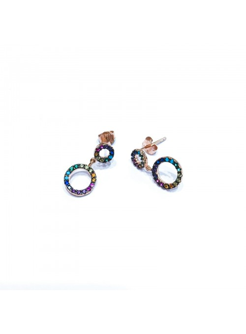 Pendientes AROS MULTI COLOR