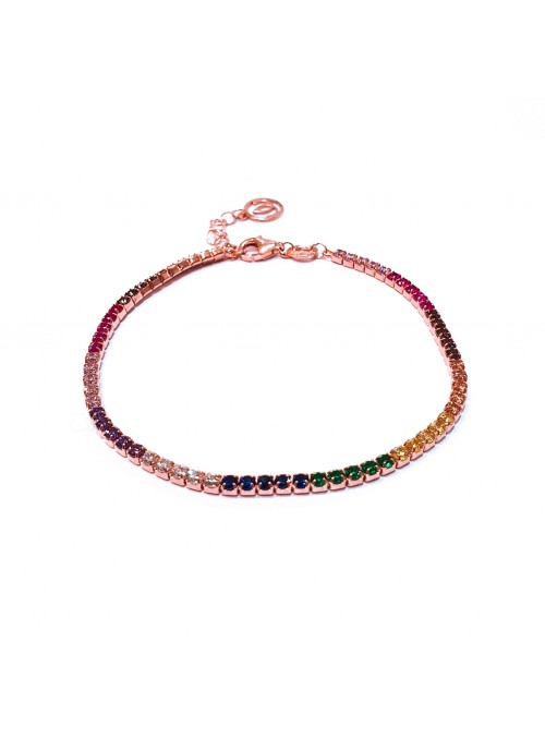 Pulsera fina multi color